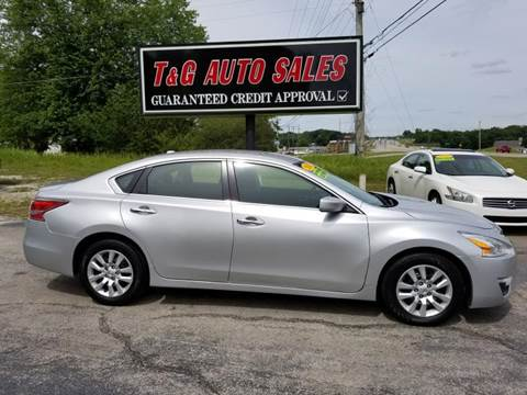2014 Nissan Altima for sale in Muscle Shoals, AL