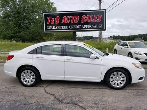 2012 Chrysler 200 for sale in Muscle Shoals, AL