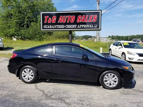 2012 Honda Civic for sale in Florence, AL