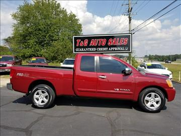 2008 Nissan Titan for sale in Florence, AL