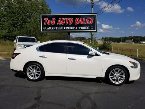 2010 Nissan Maxima for sale in Florence, AL