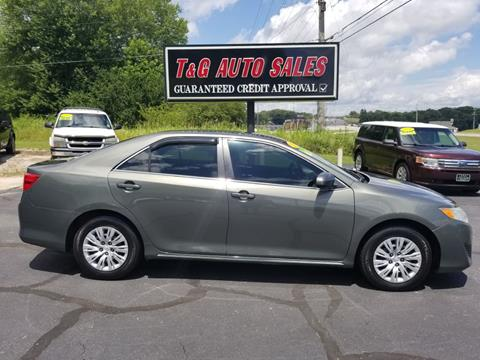 2012 Toyota Camry for sale in Muscle Shoals, AL