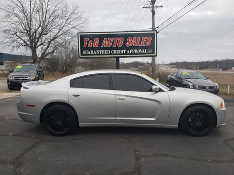 2012 Dodge Charger for sale at T & G Auto Sales in Florence AL