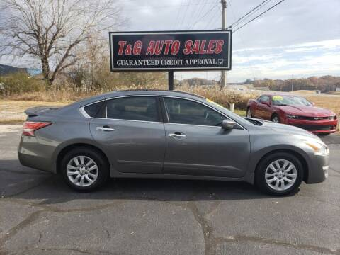 2014 Nissan Altima for sale at T & G Auto Sales in Florence AL
