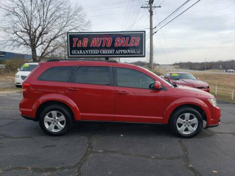 2012 Dodge Journey for sale at T & G Auto Sales in Florence AL