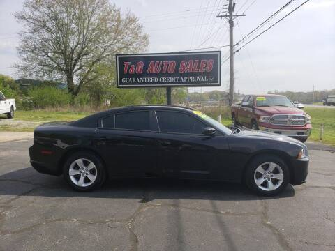 2014 Dodge Charger for sale at T & G Auto Sales in Florence AL