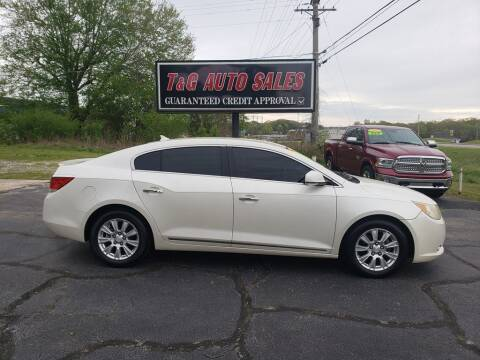2012 Buick LaCrosse for sale at T & G Auto Sales in Florence AL