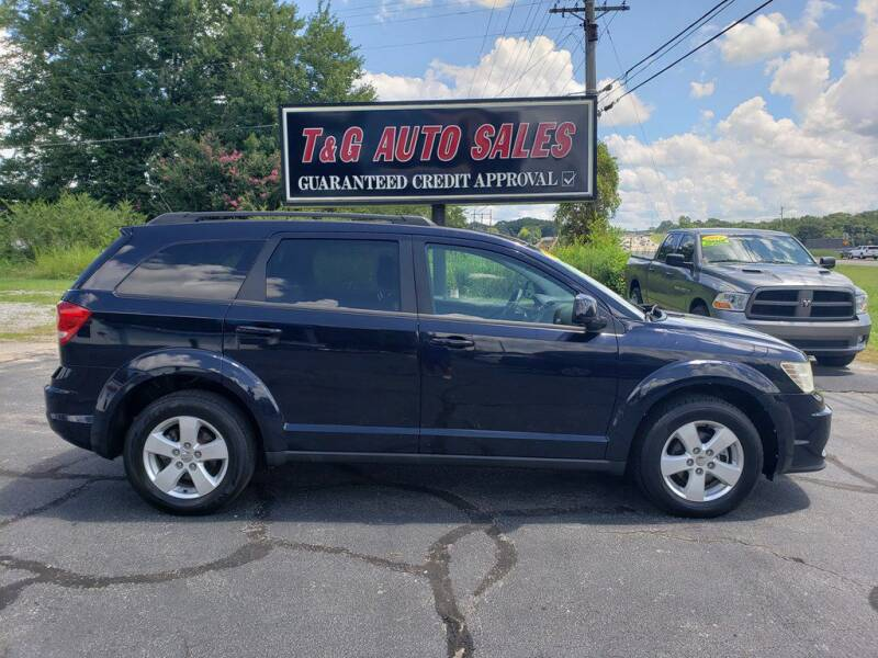 2011 Dodge Journey for sale at T & G Auto Sales in Florence AL