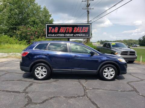 2011 Mazda CX-9 for sale at T & G Auto Sales in Florence AL