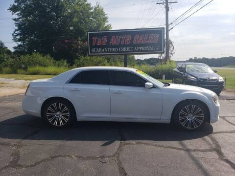 2013 Chrysler 300 for sale at T & G Auto Sales in Florence AL