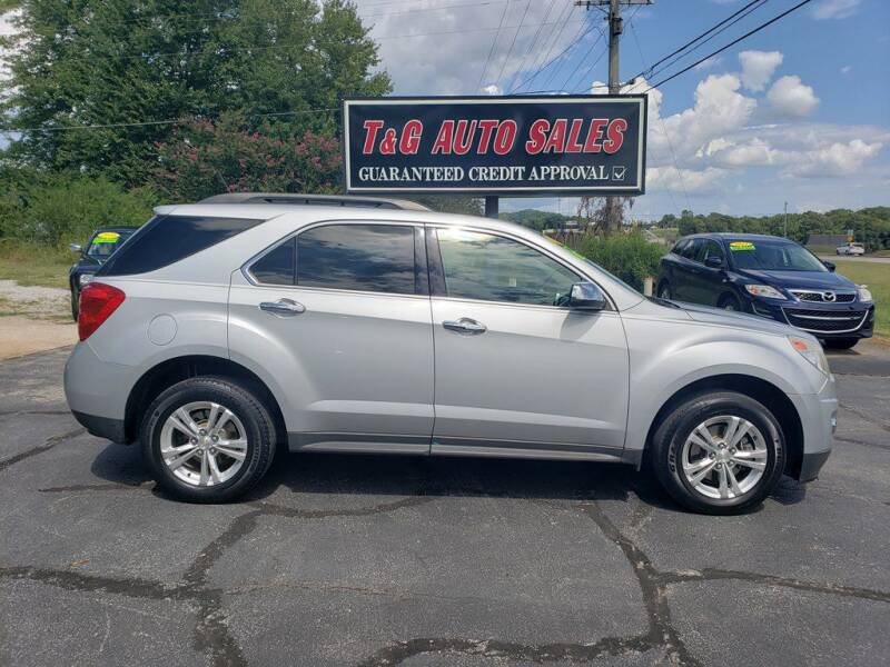 2013 Chevrolet Equinox for sale at T & G Auto Sales in Florence AL