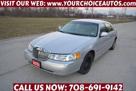 Lincoln Town Car For Sale In Illinois Carsforsale Com
