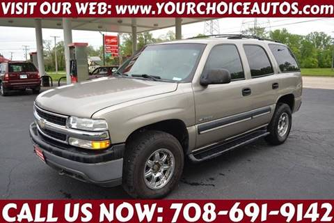 Used Chevy Tahoe >> Used 2001 Chevrolet Tahoe For Sale Carsforsale Com
