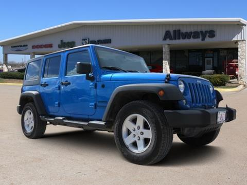 2016 Jeep Wrangler Unlimited for sale in Pleasanton, TX