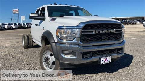 2019 RAM Ram Chassis 4500 for sale at ATASCOSA CHRYSLER DODGE JEEP RAM in Pleasanton TX
