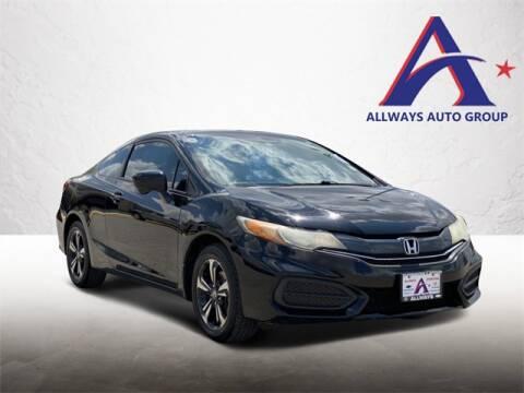2014 Honda Civic for sale at ATASCOSA CHRYSLER DODGE JEEP RAM in Pleasanton TX