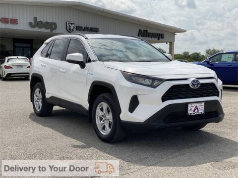 2020 Toyota RAV4 Hybrid for sale at ATASCOSA CHRYSLER DODGE JEEP RAM in Pleasanton TX