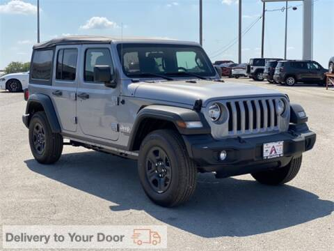 2020 Jeep Wrangler Unlimited for sale at ATASCOSA CHRYSLER DODGE JEEP RAM in Pleasanton TX