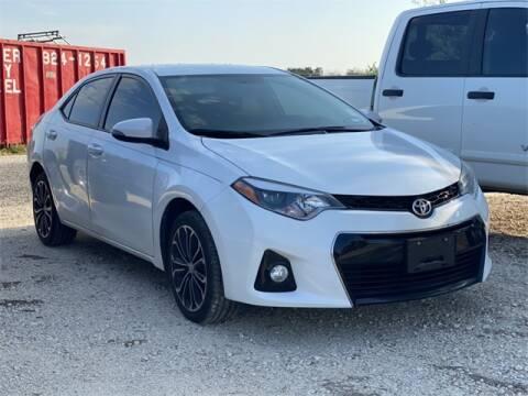 2016 Toyota Corolla for sale at ATASCOSA CHRYSLER DODGE JEEP RAM in Pleasanton TX