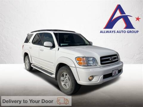 2002 Toyota Sequoia for sale at ATASCOSA CHRYSLER DODGE JEEP RAM in Pleasanton TX