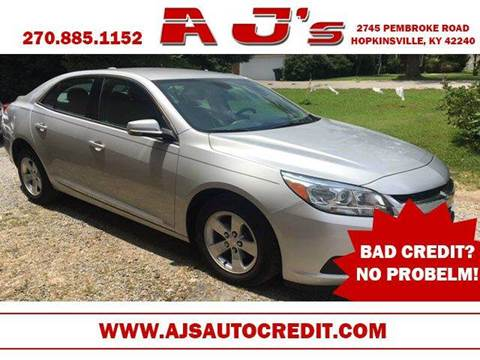 2015 Chevrolet Malibu for sale at A J'S Auto Sales in Hopkinsville KY