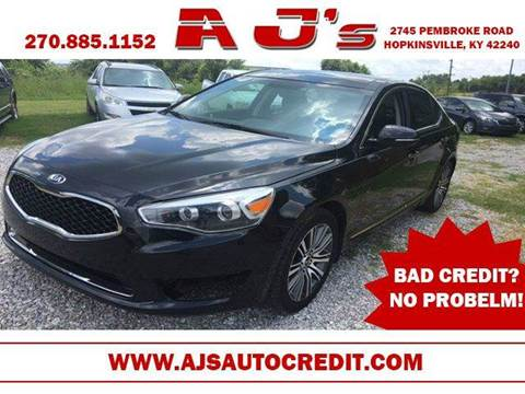 2014 Kia Cadenza for sale at A J'S Auto Sales in Hopkinsville KY
