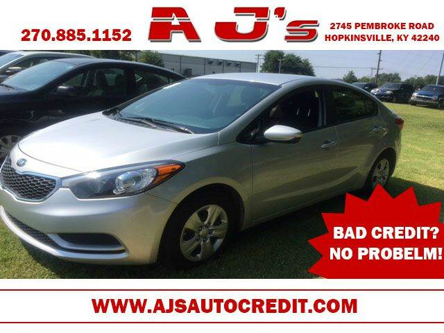 2016 Kia Forte for sale at A J'S Auto Sales in Hopkinsville KY