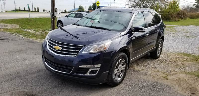 2015 Chevrolet Traverse for sale at A J'S Auto Sales in Hopkinsville KY