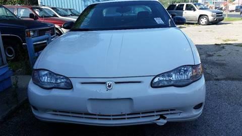 2001 Chevrolet Monte Carlo for sale in Montezuma, IN