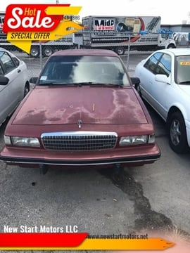 1991 Buick Century for sale at New Start Motors LLC - Crawfordsville in Crawfordsville IN