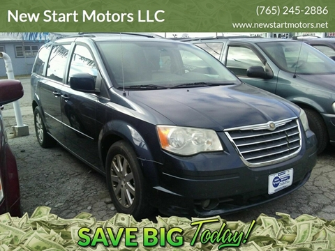 2008 Chrysler Town and Country for sale at New Start Motors LLC - Crawfordsville in Crawfordsville IN
