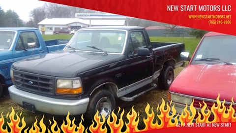 1996 Ford F-150 for sale in Rockville, IN