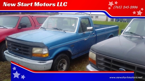 1992 Ford F-150 for sale in Rockville, IN
