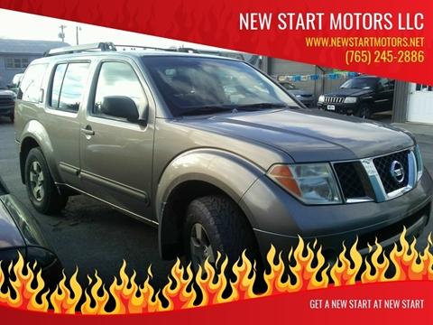2005 Nissan Pathfinder for sale at New Start Motors LLC - Rockville in Rockville IN
