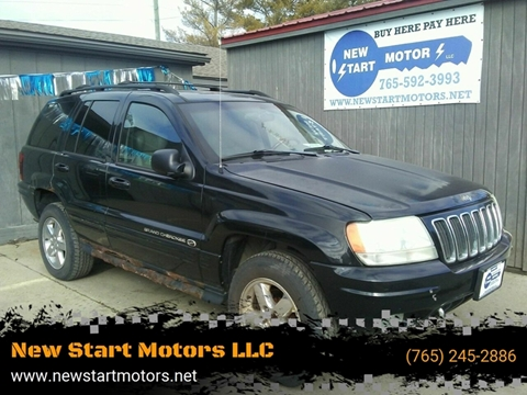 2003 Jeep Grand Cherokee for sale at New Start Motors LLC - Crawfordsville in Crawfordsville IN