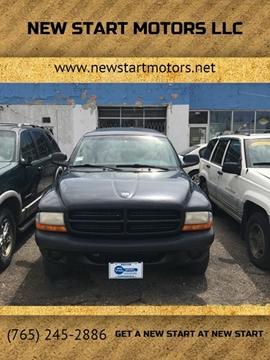 2001 Dodge Durango for sale at New Start Motors LLC in Montezuma IN
