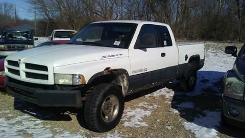 1999 Dodge Ram Pickup 1500 for sale at New Start Motors LLC - Rockville in Rockville IN