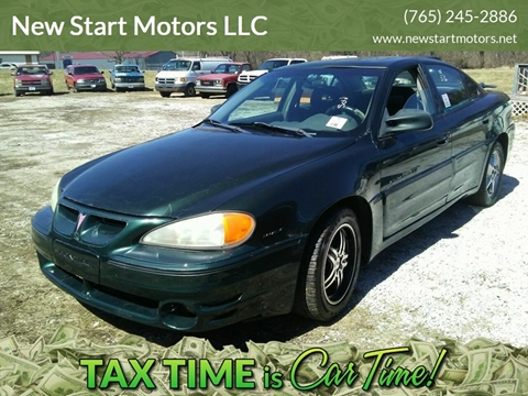 2001 Pontiac Grand Am for sale in Rockville, IN