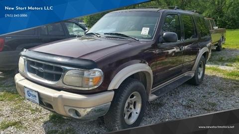 2000 Ford Explorer Eddie Bauer for sale at New Start Motors LLC - Rockville in Rockville IN