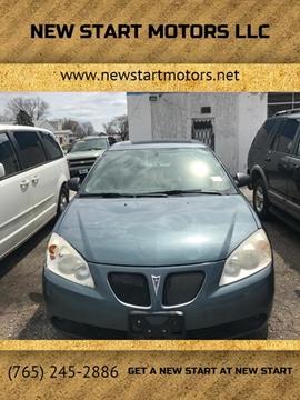 2006 Pontiac G6 for sale at New Start Motors LLC in Montezuma IN