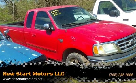 2000 Ford F-150 for sale at New Start Motors LLC - Rockville in Rockville IN