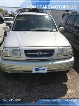 1999 Suzuki Grand Vitara for sale at New Start Motors LLC in Montezuma IN