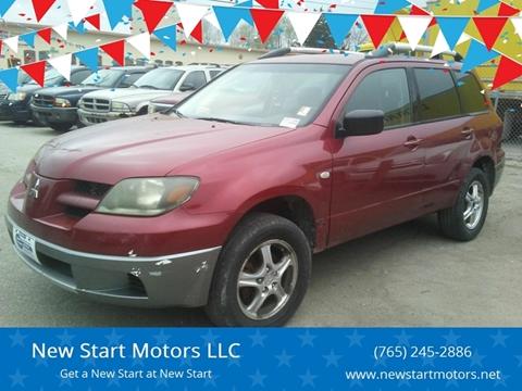 2004 Mitsubishi Outlander LS for sale at New Start Motors LLC - Crawfordsville in Crawfordsville IN