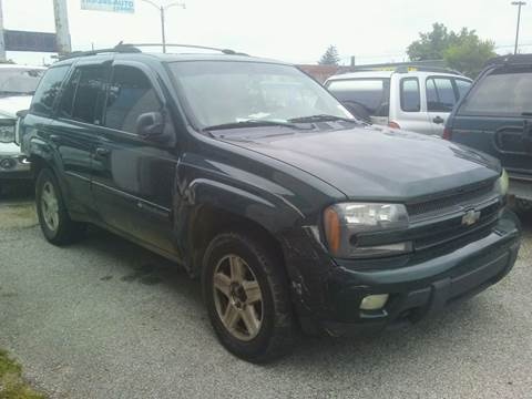 2002 Chevrolet TrailBlazer for sale at New Start Motors LLC in Montezuma IN