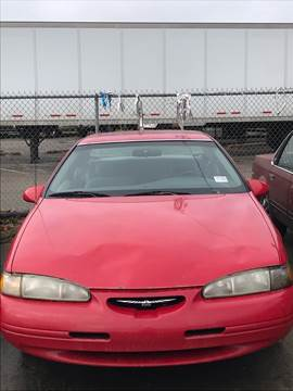 1996 Ford Thunderbird for sale at New Start Motors LLC - Crawfordsville in Crawfordsville IN