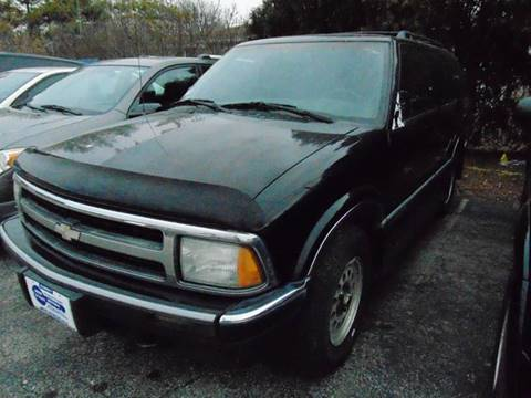 1995 Chevrolet Blazer LS for sale at New Start Motors LLC - Crawfordsville in Crawfordsville IN