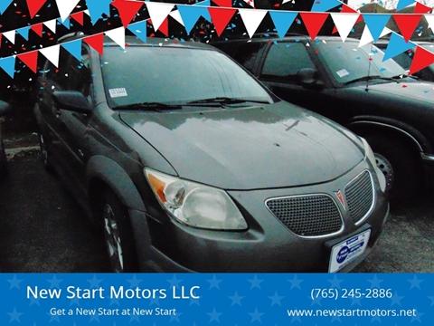 2005 Pontiac Vibe for sale at New Start Motors LLC - Crawfordsville in Crawfordsville IN