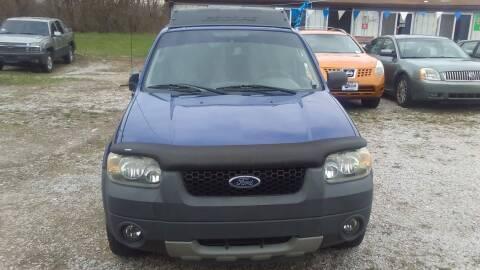2005 Ford Escape XLT for sale at New Start Motors LLC - Rockville in Rockville IN