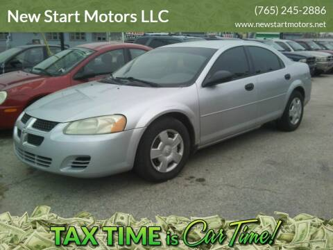 2004 Dodge Stratus for sale at New Start Motors LLC - Crawfordsville in Crawfordsville IN