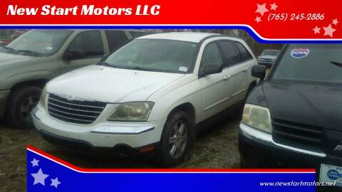 2004 Chrysler Pacifica for sale at New Start Motors LLC - Rockville in Rockville IN